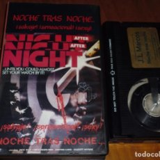 Cine: NOCHE TRAS NOCHE / NIGHT AFTER NIGHT - JACK MAY , LINDA MARLOWE - TERROR - BETA. Lote 222098445