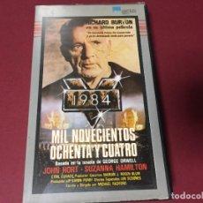 Cine: BETA VIDEO 1984 MIL NOVECIENTOS OCHENTA Y CUATRO GEORGE ORWELL JOHN HURT RICHARD BURTON ED MONTANA. Lote 222551726