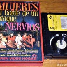 Cine: MUJERES AL BORDE DE UN ATAQUE DE NERVIOS - PEDRO ALMODOVAR, CARMEN MAURA, ANTONIO BANDERAS - BETA. Lote 222912830