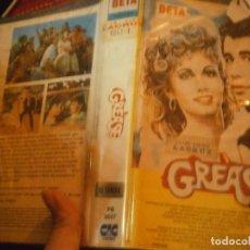 Cine: ¡GREASE UNICA,EN TC,BETA, 1 EDICION CAJA GRANDE ,DISPONEMOS MAS,DE,60.000,EN,VHS BETA 2000¡. Lote 223417908