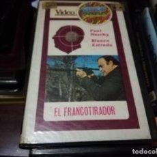 Cine: EL FRANCOTIRADOR V2000 ORIGINAL SISTEMA VIDEO 2000 PAUL NASCHY EDICION ANTIGUA. Lote 223775555