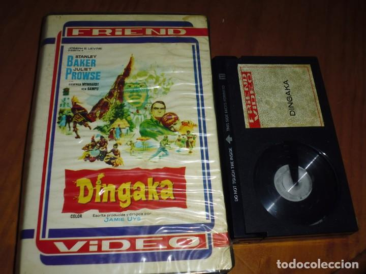 DINGAKA - STANLEY BAKER, JULIET PROWSE, JAMIE UYS - BETA - RAREZA (Cine - Películas - BETA)