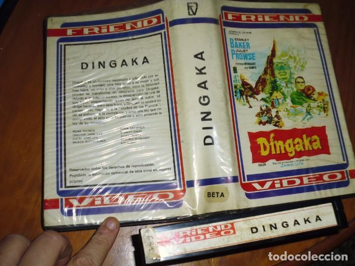 Cine: DINGAKA - STANLEY BAKER, JULIET PROWSE, JAMIE UYS - BETA - RAREZA - Foto 2 - 224664456