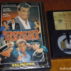 Cine: SIMPÁTICO Y CARADURA - JEAN PAUL BELMONDO, SOPHIE MARCEAU, MARIA LAFORET - BETA. Lote 224973585