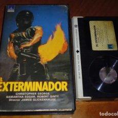 Cine: EL EXTERMINADOR - SAMANTHA EGGAR, CHRISTOPER GEORGE, JAMES GLICKENHAUSE - TERROR - BETA. Lote 225481155