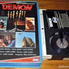 Cine: DEMON - LARRY COHEN - TERROR - BETA - CYDIS VIDEO. Lote 225520440