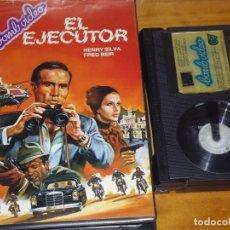 Cine: EL EJECUTOR / ASSASSINATION - HENRY SILVA, FRED BEIR - BETA. Lote 225589435