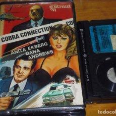 Cine: COBRA CONNECTION - ANITA EKBERG, DANA ANDREWS - BETA. Lote 225589657