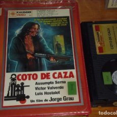 Cine: COTO DE CAZA - ASSUMPTA SERNA, JORGE GRAU - BETA - KALENDER ESTUCHE CON FOTOS. Lote 225590491
