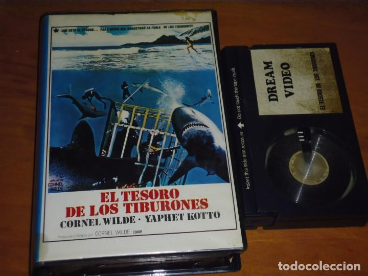 EL TESORO DE LOS TIBURONES - CORNEL WILDE, YAPHET KOTTO, CLIFF OSMOND, JOHN NEILSON - BETA (Cine - Películas - BETA)