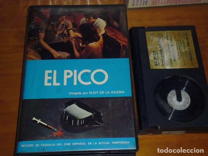 EL PICO - ELOY DE LA IGLESIA, JOSE LUIS MANZANO, LALI ESPINET, JAVIER GARCIA - CINE KINKI - BETA (Cine - Películas - BETA)