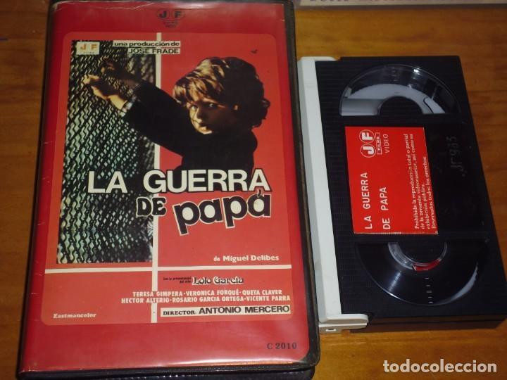 LA GUERRA DE PAPA - LOLO GARCIA, TERESA GIMPERA, ANTONIO MERCERO - BETA JOSE FRADE (Cine - Películas - BETA)