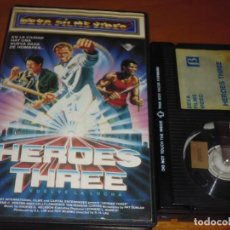 Cine: HEROES THREE . VUELVE LA LUCHA / THREE WARRIORS - BETA. Lote 226430212