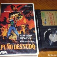Cine: PUÑO DESNUDO - CIRIO H. SANTIAGO - BETA. Lote 230484560