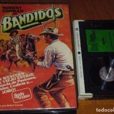 Cine: BANDIDOS - ROBERT CONRAD, ROY JENSON - BETA. Lote 230975605