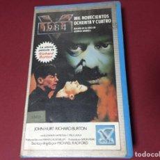 Cine: BETA VIDEO 1984 MIL NOVECIENTOS OCHENTA Y CUATRO GEORGE ORWELL JOHN HURT RICHARD BURTON ED CIVSA. Lote 234147735