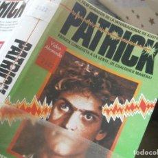 Cinema: ¡¡ PATRICK BETA¡¡RRAREZA''1 EDICCION¡¡DISPONEMOS,MAS,DE,60.000,EN,VHS,BETA,2000,. Lote 234496805