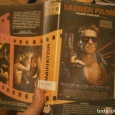Cine: TERMINATOR,BETA 1 EDICCION DISPONEMOS MAS DE 60.000,EN TODOS LOS FORMATOS BETA VHS 2000,. Lote 235365180