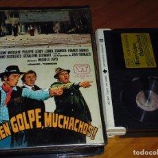 Cine: BUEN GOLPE MUCHACHOS - UGO TOGNAZZI , GASTONE MOSCHIN , MICHELE LUPO - BETA. Lote 235458375