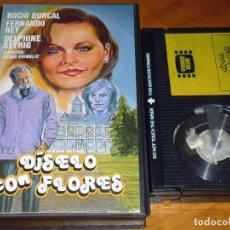 Cine: DISELO CON FLORES - ROCIO DURCAL , FERNANDO REY, DELPHINE SEYRIG - BETA - RAREZA. Lote 235458735
