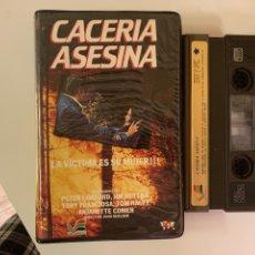 Cine: CACERÍA ASESINA VÍDEO 2000 VÍDEO ESPAÑA S.A.. Lote 235593325