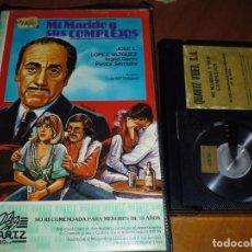 Cine: MI MARIDO Y SUS COMPLEJOS - JOSE LUIS LOPEZ VAZQUEZ, INGRID GARBO, PASTOR SERRADOR - BETA. Lote 236489970