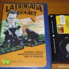 Cine: LA BRIGADA DEL INSPECTOR BOGART - BARBARA BOUCHET, ANITA EKBERG, ROBERT SACHI - POLIZIESCO - BETA. Lote 236490890