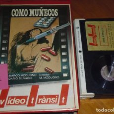Cine: COMO MUÑECOS - MARCO MODUGNO, DARIO SILVAGNI - DROGAS, KINKIS - BETA. Lote 236490935