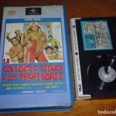 Cine: LA COLEGIALA SEDUCE A LOS PROFESORES - GLORIA GUIDA, ALVARO VITALI - BETA. Lote 236491335