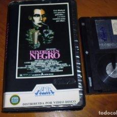 Cine: FUNDIDO A EN NEGRO / FADE TO BLACK - 1ª EDICION MEDIA HOME VIDEO DISCO - BETA. Lote 236496105
