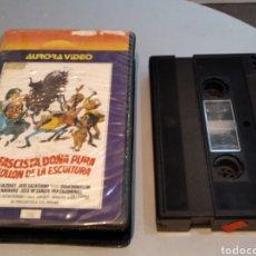 Cine: EL FASCISTA DOÑA PURA Y EL FOLLON DE LA ESCULTURA - V2000. Lote 236549580