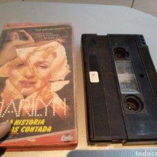 Cine: MARILYN LA HISTORIA JAMAS CONTADA - V2000 - EROTICA. Lote 236570495