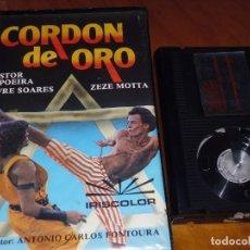 Cine: CORDON DE ORO - NESTOR CAPOEIRA, JOFRE SOARES, ZEZE MOTTA, ANTONIO CARLOS FONTOURA - BETA. Lote 237622395