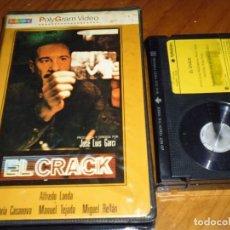 Cine: EL CRACK - ALFREDO LANDA, MARIA CASANOVA - POLYGRAM CAJA GRANDE DE VIDEOCLUB - BETA. Lote 237624415