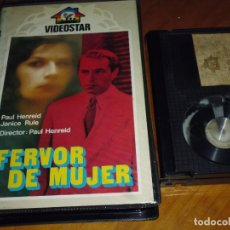 Cine: FERVOR DE MUJER - PAUL HENREID, JANICE RULE - VIDEOSTAR - BETA. Lote 237624690