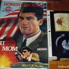 Cine: HI MOM - ROBERT DE NIRO , BRIAN DE PALMA - BETA. Lote 237624870
