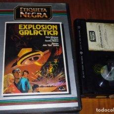 Cine: EXPLOSION GALACTICA - CHRIS MITCHUM, JIM DAVIS, DOROTHY MALONE - BETA. Lote 237625250