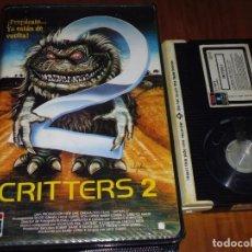 Cine: CRITTERS 2 - MICK GARRIS, DON OPPER, SCOTT GRIMES - TERROR - 1ª EDICION RCA CAJA GRANDE - BETA. Lote 237626210