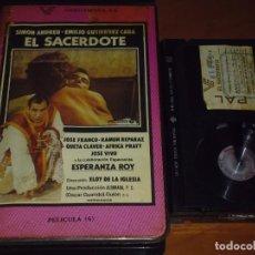 Cine: EL SACERDOTE - SIMON ANDREU , ESPERANZA ROY , ELOY DE LA IGLESIA - 1ª EDICION - BETA. Lote 237629545