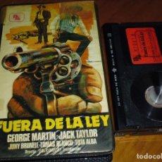 Cine: FUERA DE LA LEY - GEORGE MARTIN , JACK TAYLOR, LEON KLIMOWSKY - BETA. Lote 237632595