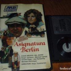 Cine: ASIGNATURA BERLIN - EDDIE MEKKA, VAL AVERY, ROGER JACKSON, HRAYR TOUKHANIAN - BETA. Lote 237634725