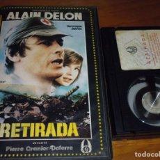 Cine: RETIRADA - ALAIN DELON, VERONIQUE JANNOT - BETA. Lote 237635980
