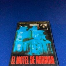 Cine: EL MOTEL DE NORMAN (1987) BETAMAX - TERROR - COMEDIA. Lote 238174990