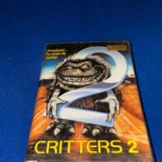 Cine: PELICULA BETA CRITTERS 2 BETA ORIGINAL DE VIDEOCLUB RCA 1989 PEDIDO MÍNIMO 8€. Lote 238200675