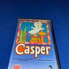 Cine: CASPER (HANNAH BARBERA, 1950) GASPARÍN FANTASMA AMIGABLE VIDEOJOVEN 1984 WORLDVISION MUY RARA. Lote 238213450