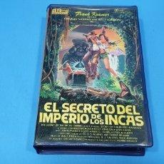 Cine: PELÍCULA BETA - EL SECRETO DEL IMPERIO DE LOS INCAS. Lote 239371235