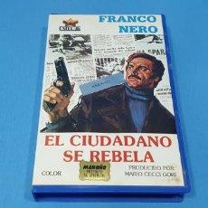 Cine: PELÍCULA BETA - EL CIUDADANO SE REBELA - FRANCO NERO. Lote 239376685