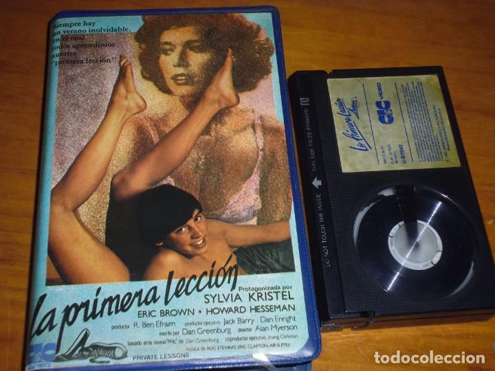 LA PRIMERA LECCION - SYLVIA KRISTEL, ERIC BROWN, HOWARD HESSEMAN - BETA (Cine - Películas - BETA)