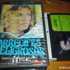 Cine: ARRECIFES PELIGROSOS - JULIE CHRISTIE , CHRISTIAN DE CHALLONGE - BETA. Lote 244451570