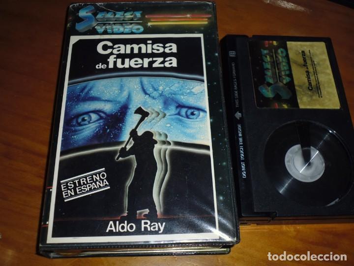 CAMISA DE FUERZA - ALDO RAY - TERROR - SELECT VIDEO CON ESTUCHE CON FOTOS - BETA (Cine - Películas - BETA)